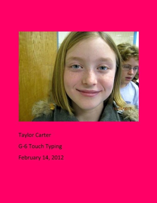 G-6 Touch Typing
