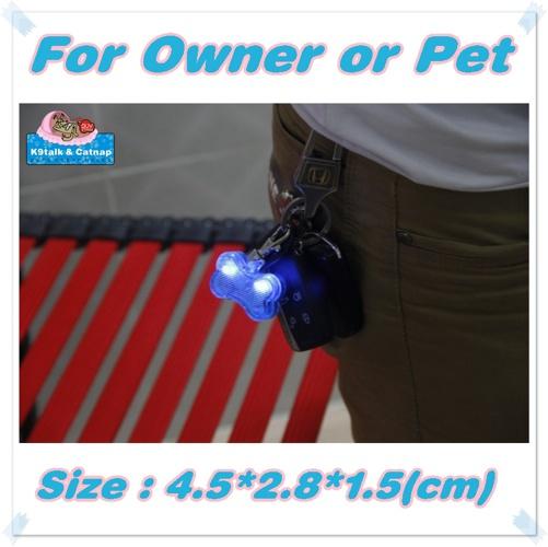 K9talk And Catnap's Dog Bone Pendant - Durable LED Bone Light
