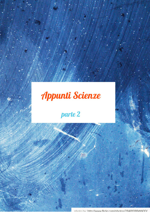 appunti scienze parte 2