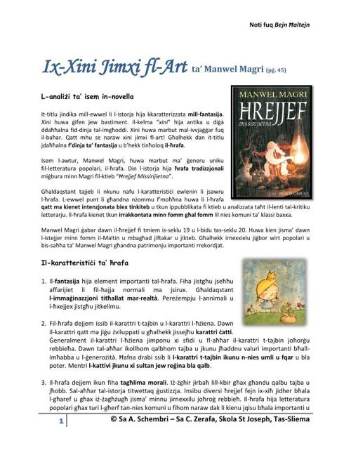 Ix-Xini Jimxi fl-Art