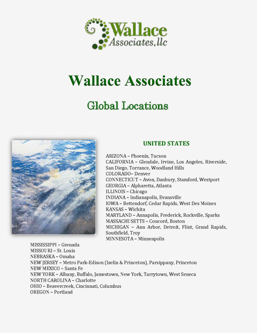 Wallace Associates: Global Locations