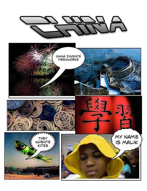 2nd Grade Ancient China Comic