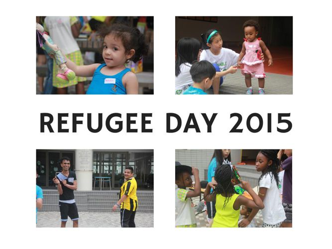 Refugees Day Journal (MS GIN CLUB)