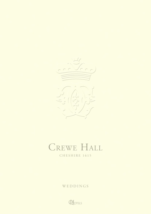 Crewe Hall Wedding Brochure 2013