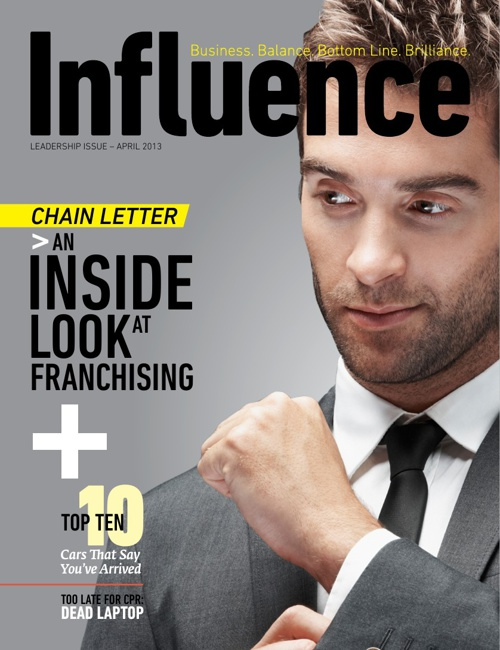 Influence Premier Issue