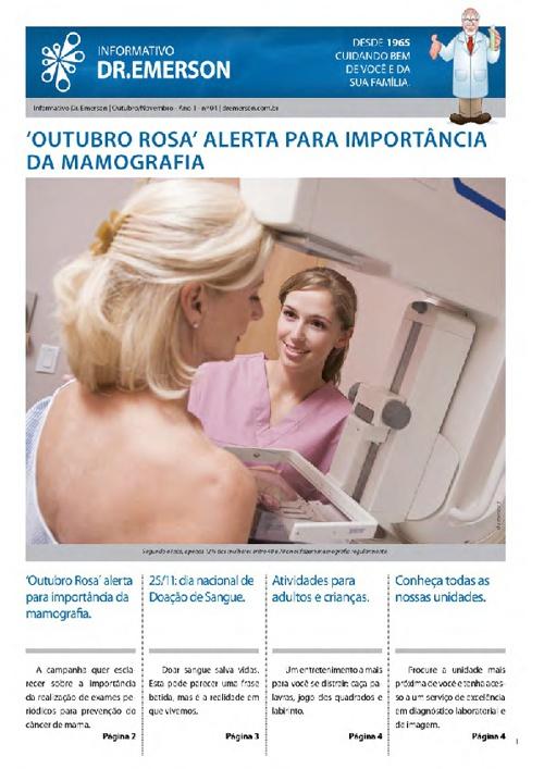 INFORMATIVO DR EMERSON - QUARTA EDIÇÃO - 2012