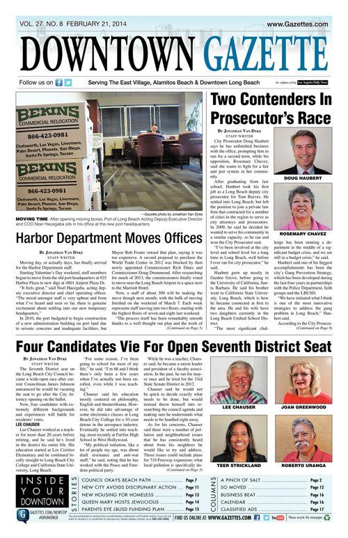 Downtown Gazette  |  February 21, 2014