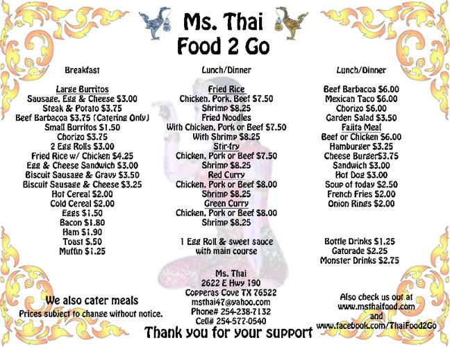 Ms. Thai