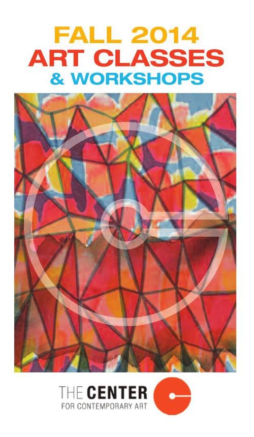 Fall 2014 Art Classes and Workshops