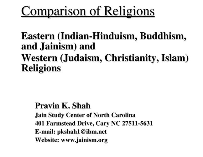 comparative study between buddhism and jainism Free essay: here we will discuss jainism first and then compare it to hinduism and buddhism jainism is a religion of peace and harmony and teaches man to.