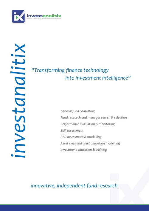 Investanalitix Corporate Brochure