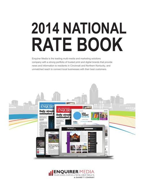 Enquirer Media National Rate Book.