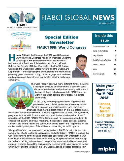FIABCI GLOBAL NEWS_January 2018