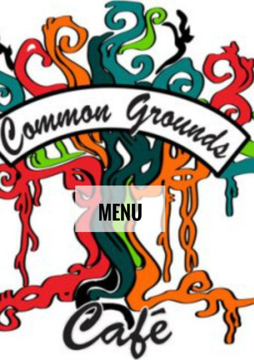 Common Grounds Menu