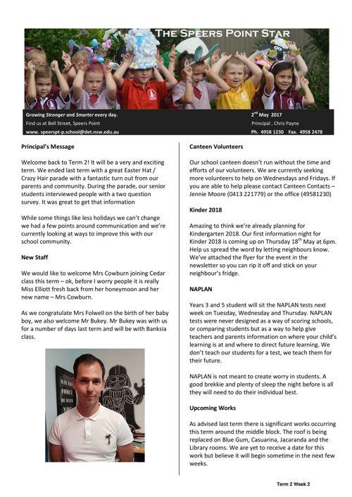 Term 2 Week 2 Newsletter
