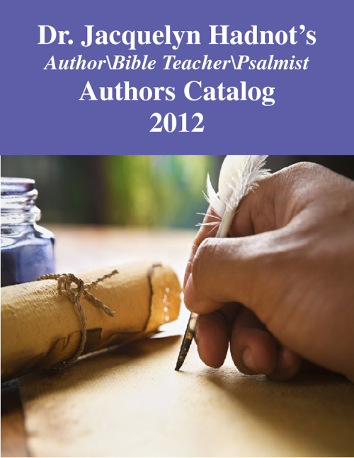 Dr. Jacquie's Authors Catalog