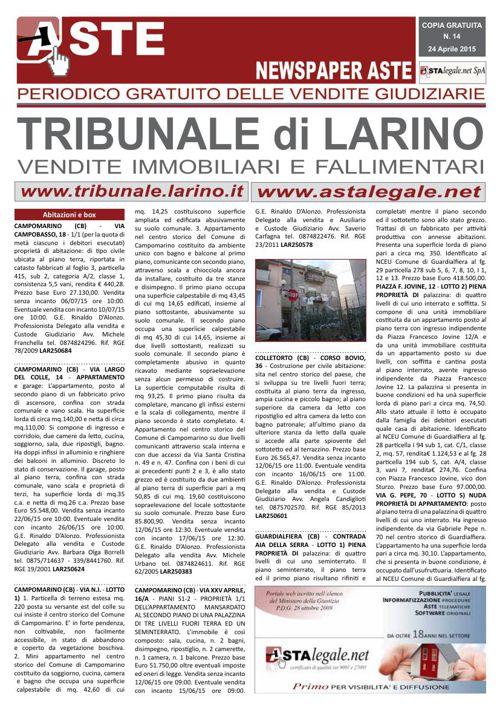 Larino Aprile 2015
