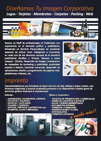 Catálogo Estudio Creativo Publicidad