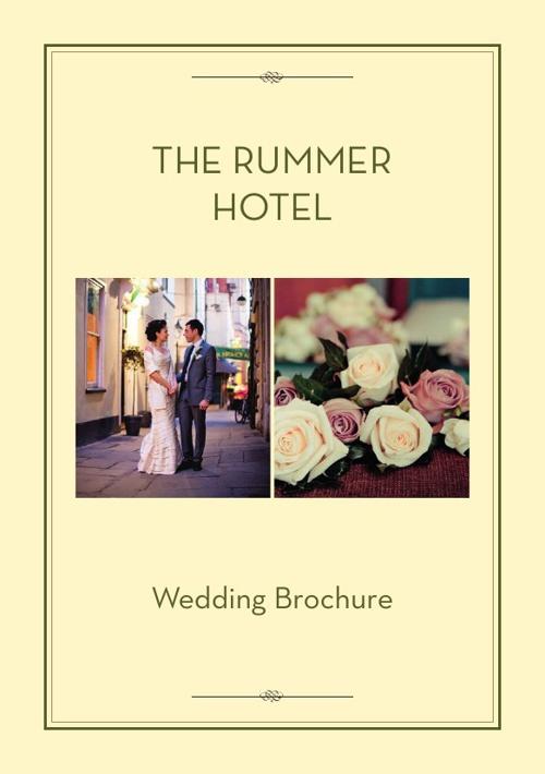 The Rummer Hotel - Weddings
