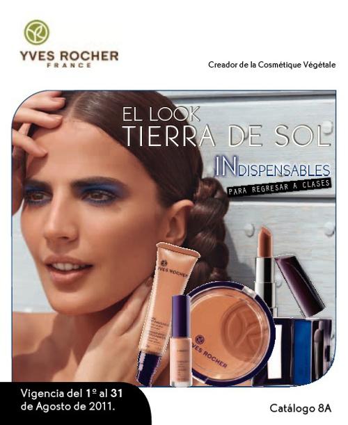 Catalogo de Agosto Yves Rocher