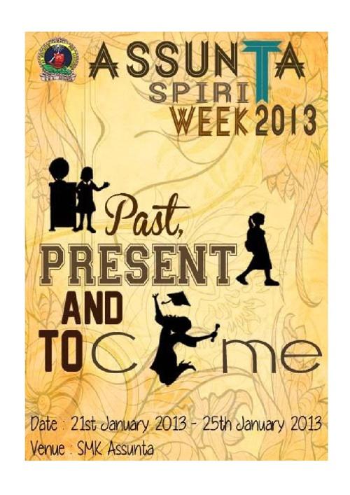 Assunta Spirit Week Program