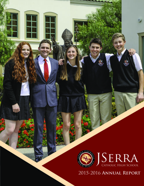 JSerra Catholic High School Annual Report 2015-2016