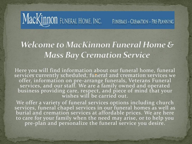 Whitman MA funeral home