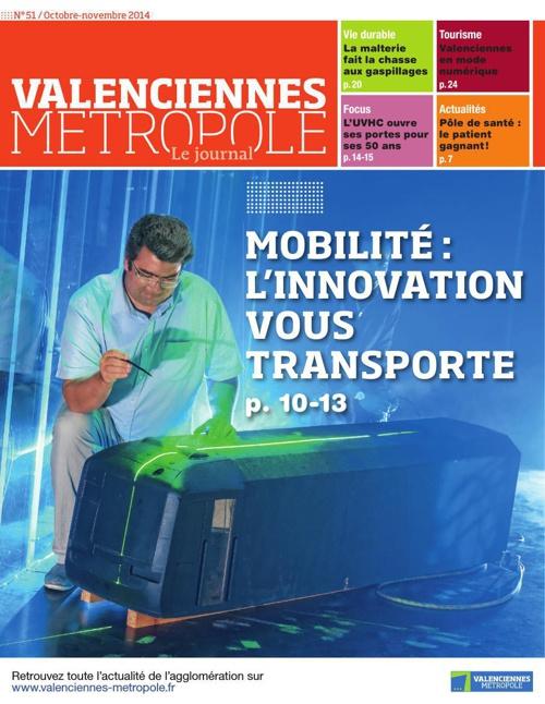 Valenciennes Metropole, le journal n°51