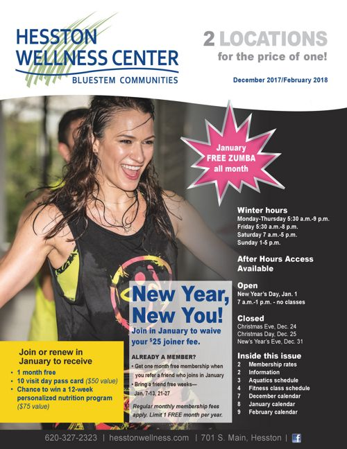 Winter 2017-18 | Hesston Wellness Center News