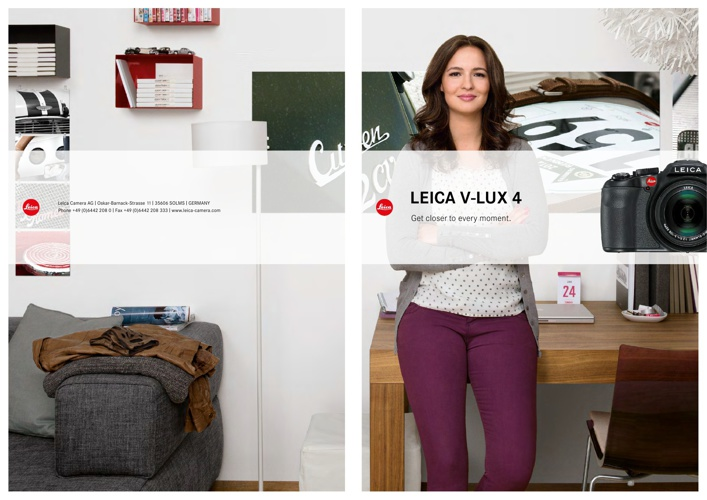 Leica V-Lux 4 Brochure by Red Dot Cameras