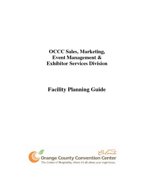 OCCC Facility Planner Guide