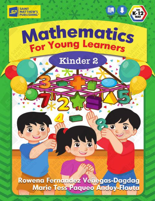 Mathematics for Young Learners - Kinder 2