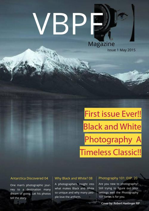 VBPF Magazine issue 1 may 2015