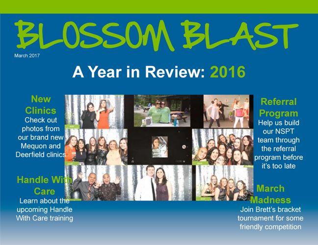 March 2017 Blossom Blast