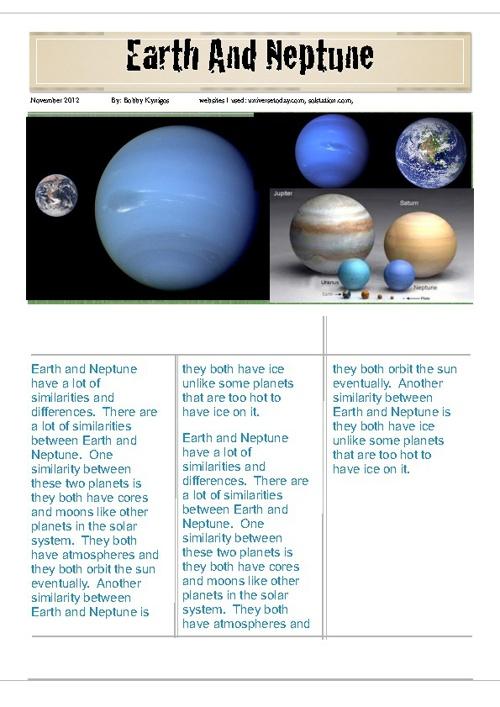 Neptune and Neptune