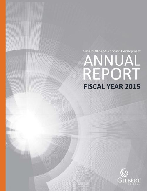 Gilbert, AZ ED Annual Report FY15