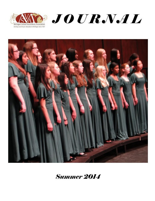 MSVMA 2014 Summer Journal
