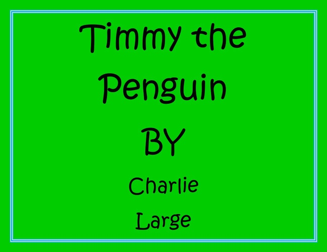 Timmy the Penguin