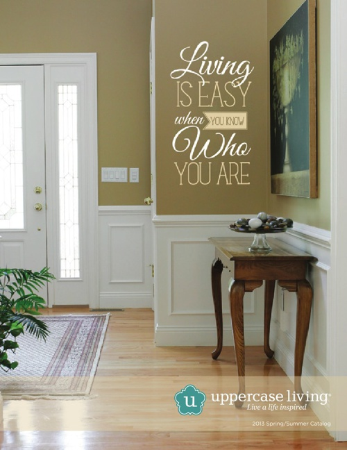Spring/Summer 2013 Uppercase Living Catalog