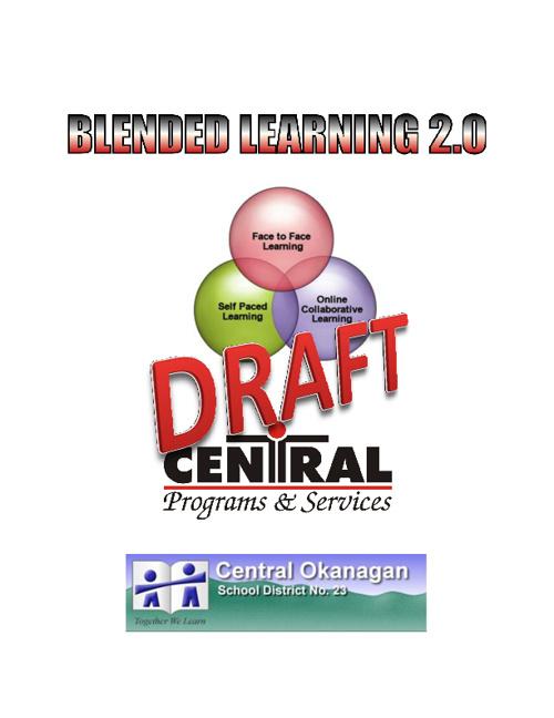 Draft BL Handbook