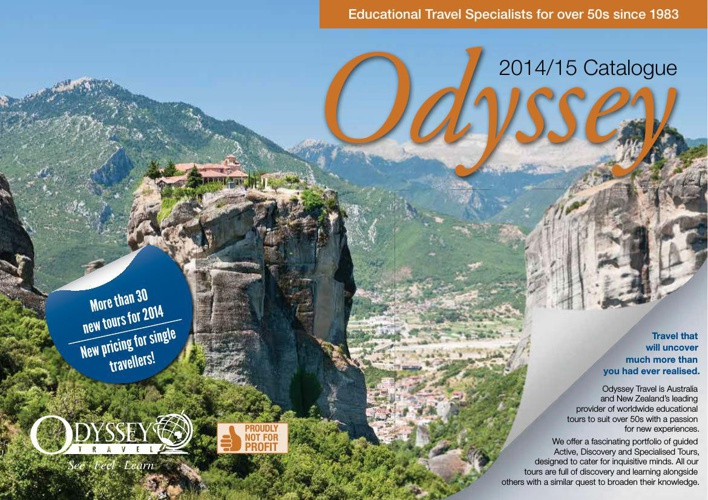 Odyssey Travel Latest Catalogue