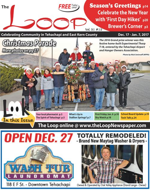 The Loop Newspaper - Vol 31 No 12 - 12/17/16 to 01/07/17