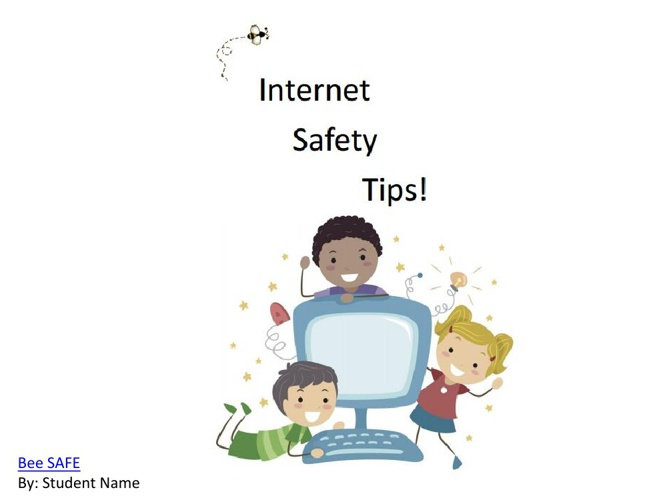 Internet Safety-Children's Book3