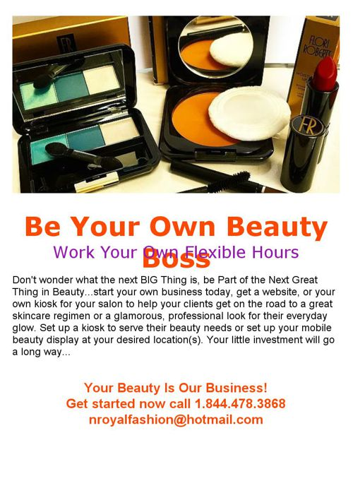 Be Your Own Beauty Boss