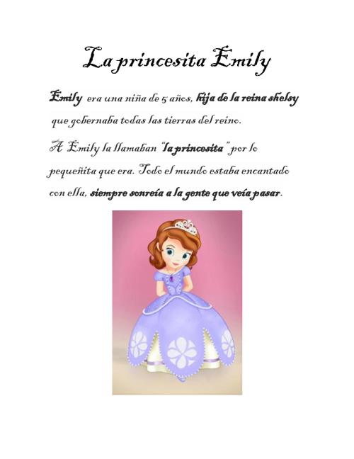 la princesita emily