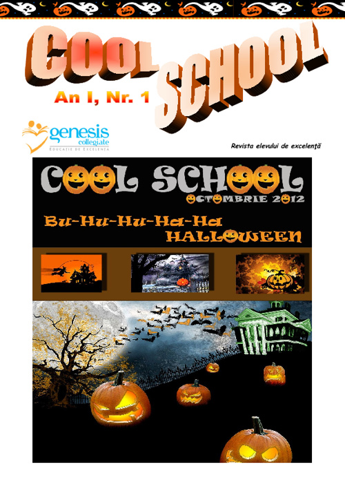 Cool School 1, Revista Scolii Genesis Collegiate
