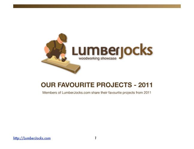 LumberJocks' Memories - 2011
