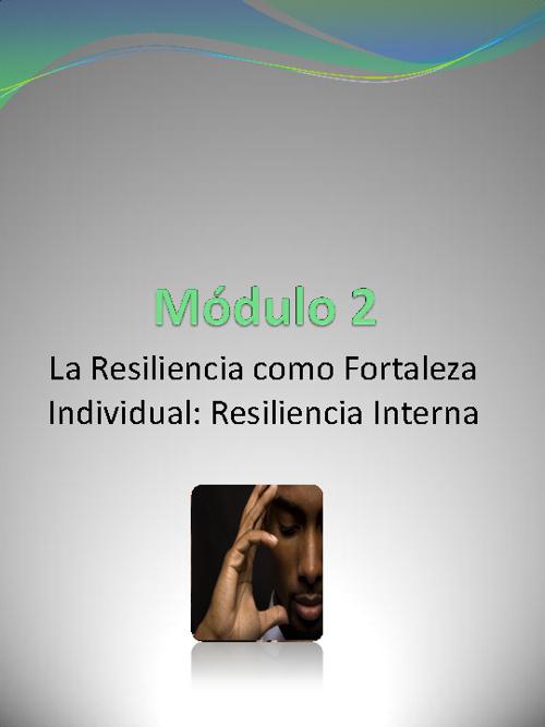 Resiliencia como destreza