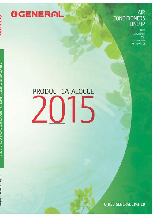 catalogue Fujitsu General