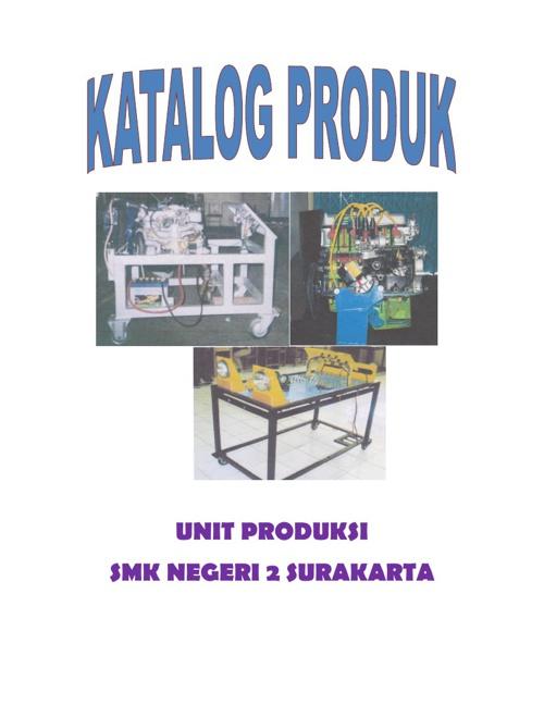 Katalog Produk Alat Praktek Otomotif